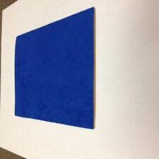 Poron Urethane Foam FP301 1//16 inch 36 X 42 Blue with Blue suede