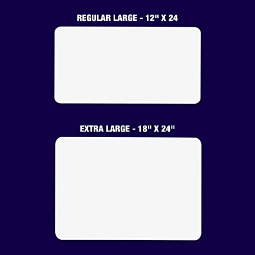 2 Pack 12x18 Blank Car Magnets