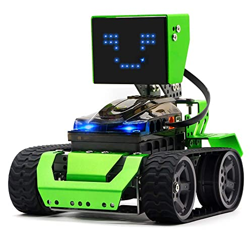 Robobloq Robot Kit, DIY 6 in 1 Advanced Mechanical Building Block with  Remote Control for Kids, Educational STEM Toy for Programming and Learning  How
