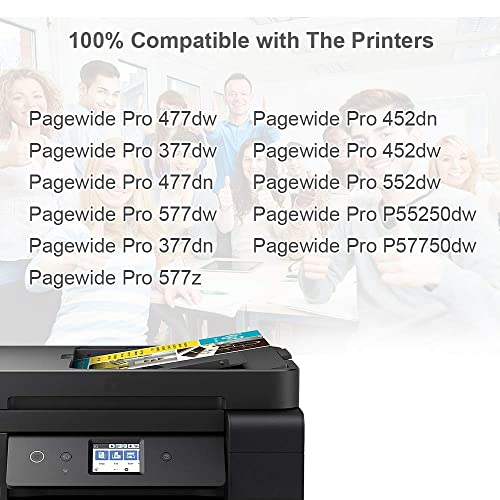 Compatible 972X Ink Cartridge For HP PageWide Pro 452dn 452dw 477dn 477dw 552dw