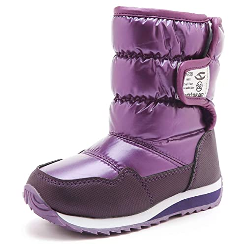 KIIU Kids Snow Boots Toddler Outdoor Winter Boots for Boys Girls Slip  Resistant Warm Shoes