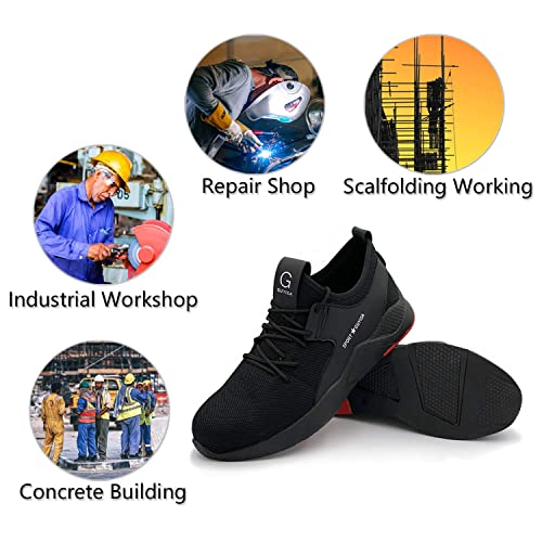 d35d93df8aba Buy UPSTONE Work Shoes Mens, Mesh Breathable Lightweight Comfortable ...