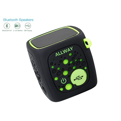 Portable Wireless Bluetooth Speakers Allway Mini Bluetooth Speakers With Loud Stereo Sound Tf Card Port 164 Feet Bluetooth 5 0 Range Rich Bass For Laptop Macbook Pro Iphone Mp4 Echo Car Tv And More Buy Products Online With Ubuy Chile In Affordable