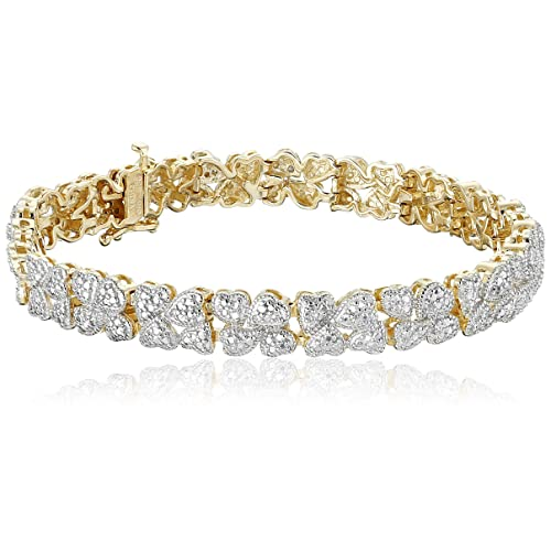 G-H,I2-I3 1//10 cttw, Diamond Wedding Band in 10K Yellow Gold Size-7