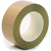 1 x 36 Yards Teflon 21-3S Teflon Coated Tape Silicone Adhesive