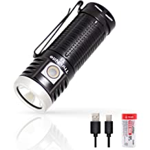 ThruNite TT10 linterna t/áctica LED CW 3700 l/úmenes XHP 70B 5000 mAh bater/ía recargable incluida recargable EDC linterna