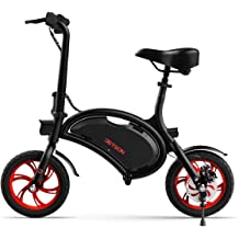 Jetson Bio Folding Electric Scooter with Bright LED Stem Light and LCD Display for Teens /& Adults