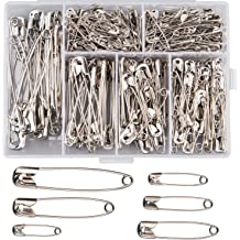 Rust Resistant 250pcs Otylzto 2 Safety Pins for Laundry Industrial,Nickel Plated
